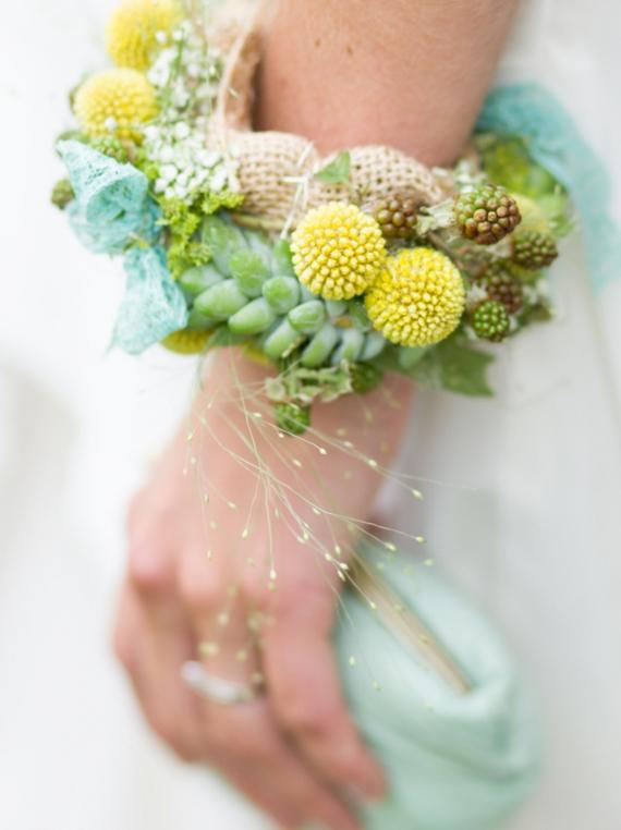 Molto floreale da sposa o damigella di nozze IC77