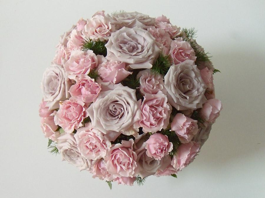 Coordinati floreali di nozze Lylac gray e rosa
