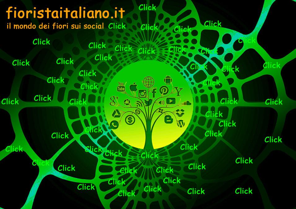 Fiorista Italiano il mondo dei fiori sui social