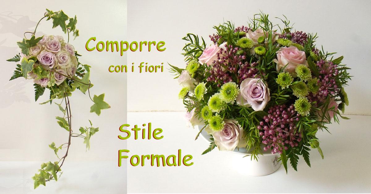 Composizioni floreali in stile formale
