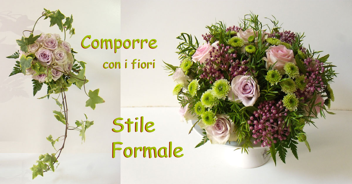 Comporre i fiori in stile formale