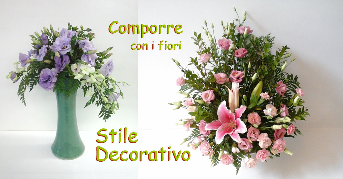 Composizioni floreali video step by step trend novit fiori for Art e decoration rivista