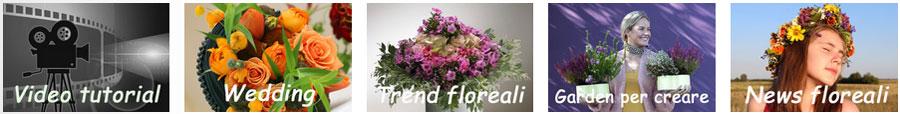Composizioni floreali video step by step trend novità fiori