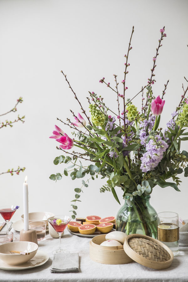 Idee floreali per comporre i fiori in primavera