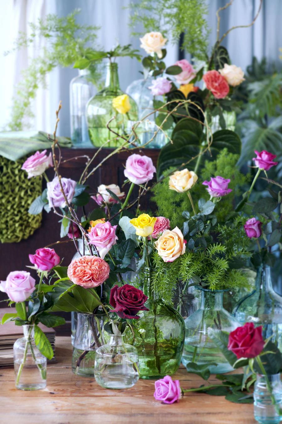 Come prolungare la vita dei fiori recisi