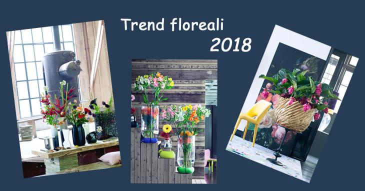 Trend floreali 2018 per comporre fiori e piante