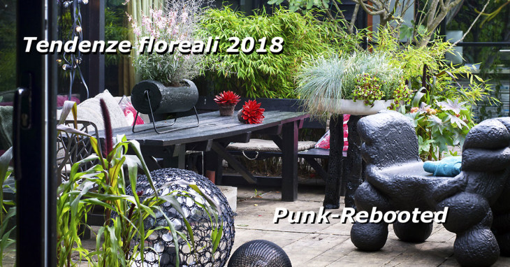 Punk-Rebooted trend floreale 2018