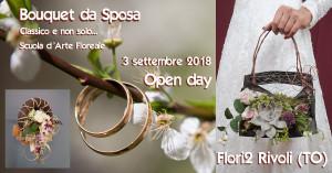 Bouquet da sposa Open day Flori2 Rivoli TO @ FLORI 2 Ingrosso per fioristi | Rivoli | Piemonte | Italia