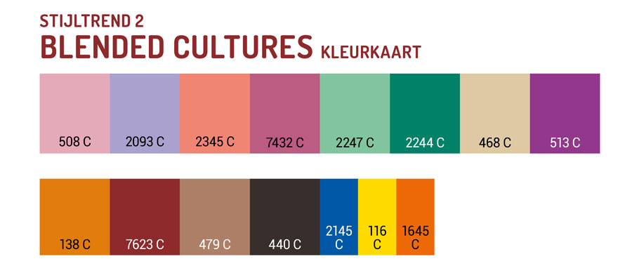 Trend di stile 2020 Blended Cultures